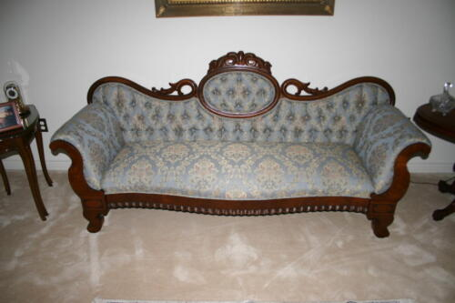 Antique Settee-After
