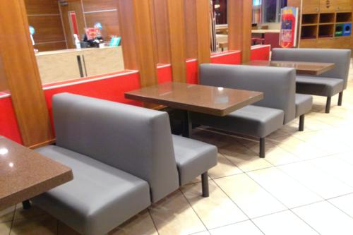 Mc Donald's Booths