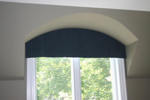 Curved Top Box Pleated Valance