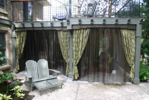 Outdoor Drapery Panels & Sheers